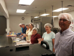 Volunteers at Faith Mission Columbus
