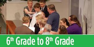 Grade 6 to Grade 8