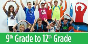 Grade 9 to Grade 12