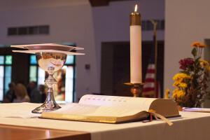 Communion at St. John Dublin